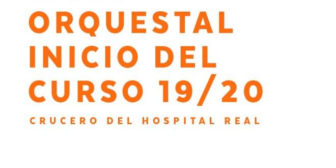 Ciclo orquestal inicio del curso 2019/2020 EN LA UNIVERSIDAD