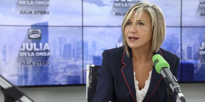 Julia Otero: «La ultraderecha parece tener un objetivo: las mujeres»