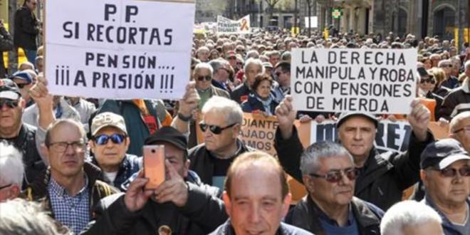 Estrasburgo admite la demanda de los pensionistas contra el Estado español