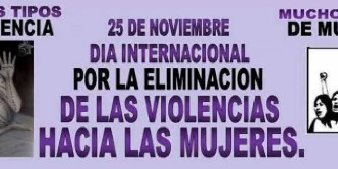 #25N Dia Internacional Por la Eliminación de las Violencias hacia las Mujeres