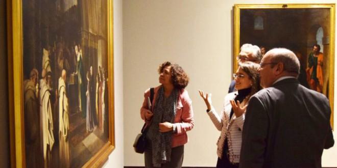 La UGR muestra los cuadros de El Prado que el museo nacional le cede desde hace más de un siglo