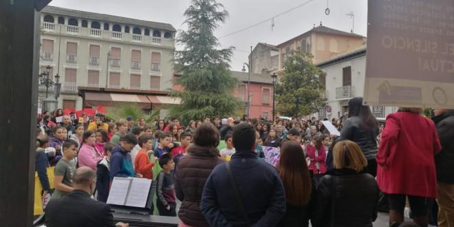 ATARFE SE UNE AL CLAMOR DELDIA DE HOY CONTRA LA VIOLENCIA DE GENERO