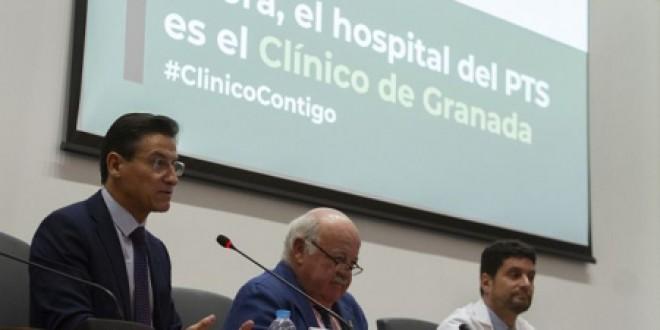 El Hospital Universitario Clínico San Cecilio lanza la campaña 'ClínicoContigo' para comunicar su cambio