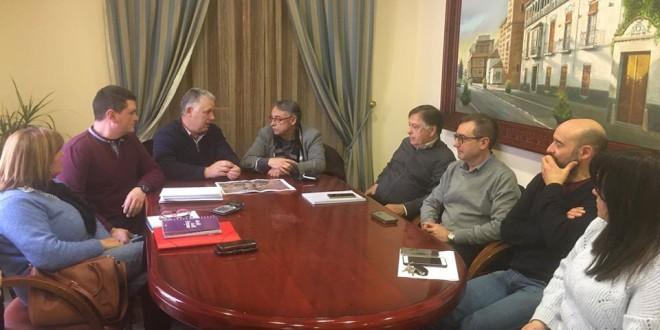 VISITA INSTITUCIONAL DEL DIPUTADO DE FOMENTO, Y TÉCNICOS DE LA DIPUTACIÓN DE GRANADA