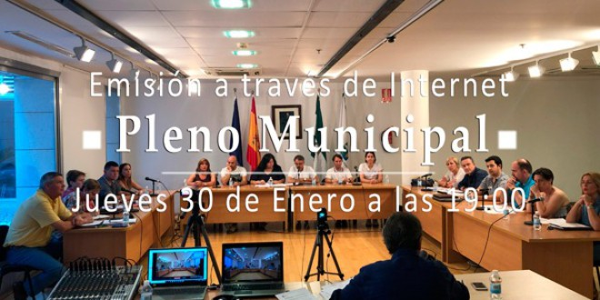 ATARFE: PLENO MUNICIPAL ORDINARIO DE ENERO