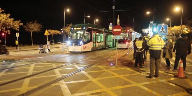 El corte del metro entre Albolote y Maracena durará varios días y se cubrirá con autobuses gratis
