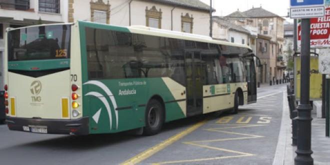 Reducción de servicios de autobuses metropolitanos.