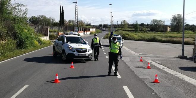 Los policías metropolitanos imponen 1.268 sanciones durante el estado de alarma hasta el 21 de Abril