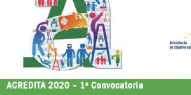Primera Convocatoria 2020 en Andalucía para acreditar competencias profesionales adquiridas por experiencia laboral o formación no formal