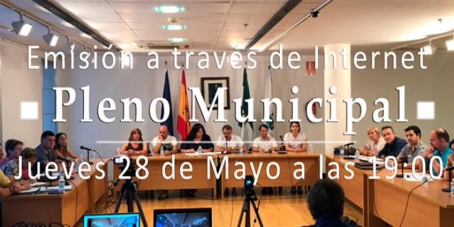 ATARFE: PLENO MUNICIPAL ORDINARIO EL PRÓXIMO JUEVES 28 DE MAYO