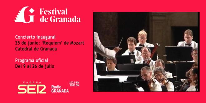 El primer concierto clásico tras el estado de alarma se celebrará en Granada el 25 de junio