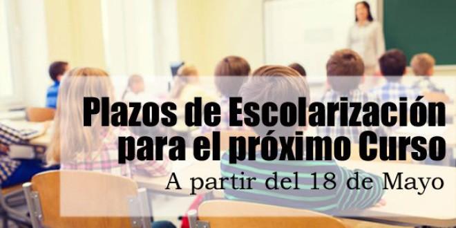 La Consejería abrirá los centros educativos para la escolarización a partir del 18 de mayo