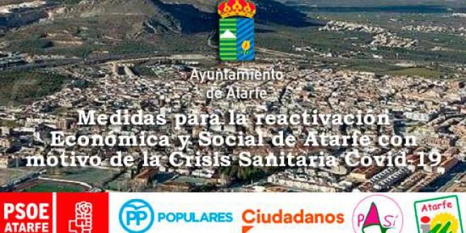 ATARFE: MEDIDAS DE REACTIVACIÓN ECONÓMICA Y SOCIAL DE ATARFE CON MOTIVO DE LA CRISIS SANITARIA COVID-19