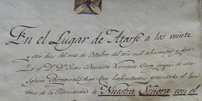 «Hermandad de Nuestra Señora del Rosario» por José Enrique Granados
