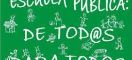 100 % de apoyo a la pública: la educación concertada no recibirá dinero de la comisión de reconstrucción
