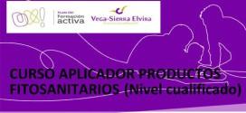 ATARFE: CURSO APLICADOR PRODUCTOS FITOSANITARIOS (NIVEL CUALIFICADO)