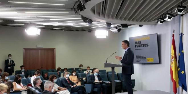Una encuesta internacional afirma que el 54% de los españoles cree que el gobierno ha hecho «un buen trabajo» gestionando la pandemia