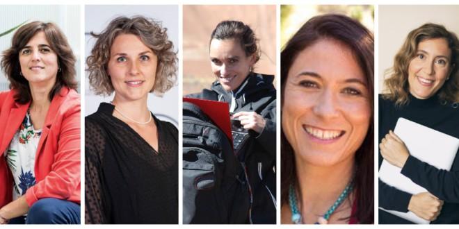 Cinco investigadoras que exploran nuevos caminos en la ciencia