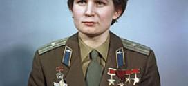 MUJERES QUE CAMBIARON LA HISTORIA(19): VALENTINA TERESHKOVA