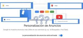 Cómo evitar que Google nos coloque anuncios personalizados