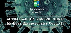 ATARFE: ACTUALIZACIÓN RESTRICCIONES MEDIDAS EXCEPCIONALES COVID-19
