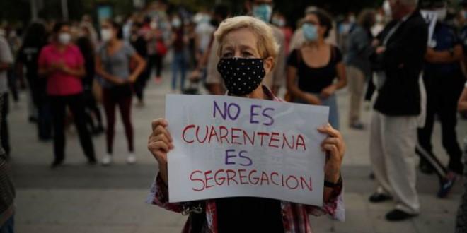 La extrema derecha está detrás de la violencia en las concentraciones en España