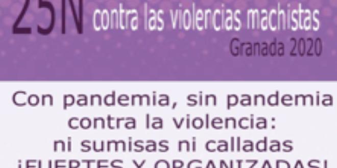 EL MOVIMIENTO FEMINISTA DE GRANADA ANTE EL 25N 2020