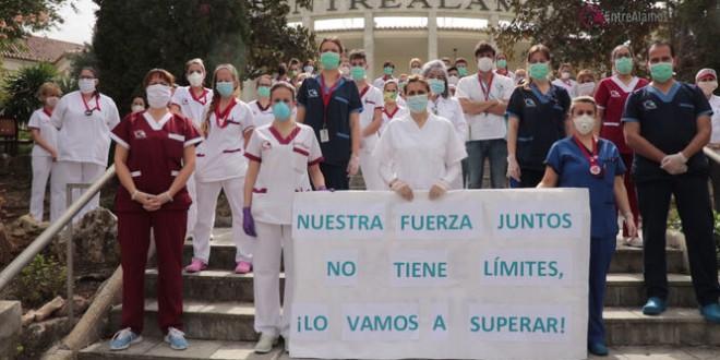 Drama en las residencias de Granada: 106 casos en el centro Entre Álamos de Atarfe