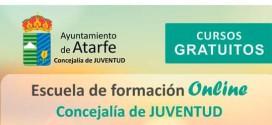 LA CONCEJALÍA DE JUVENTUD OFERTA CURSOS ONLINE GRATUITOS PARA L@S JÓVENES DE ATARFE