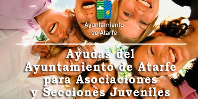 ATARFE: Ayudas del Ayuntamiento de Atarfe  para Asociaciones y Secciones Juveniles