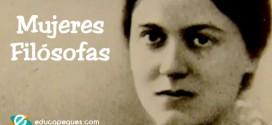 15 mujeres filósofas para estudiar en el aula