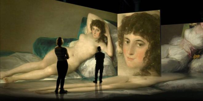 Granada acogerá en marzo el inicio de la gira mundial de la exposición inmersiva #INGOYA