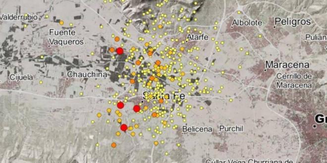 Los terremotos en la Vega de Granada se deben a la aproximación continua de 4 a 5 milímetros al año entre las placas eurasiática y africana 26/01/2021