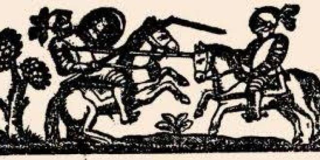 «EL MORO TARFE Y GARCILASO» por José Enrique Granados