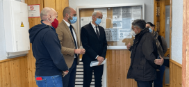ATARFE: Igualdad revisa los desperfectos ocasionados tras los seísmos en el Centro de MAYORES de Atarfe