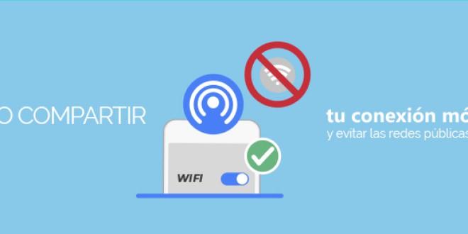 Cómo compartir tu conexión móvil y evitar las redes públicas