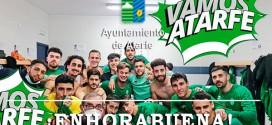 ATARFE INDUSTRIAL C.F.  y Arenas iniciarán la fase de ascenso fuera de casa