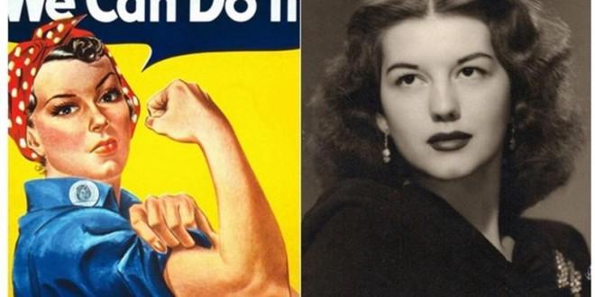 """Rosie la """"remachadora"""": el ahora icono feminista que nació como imagen de la """"buena esposa"""""""