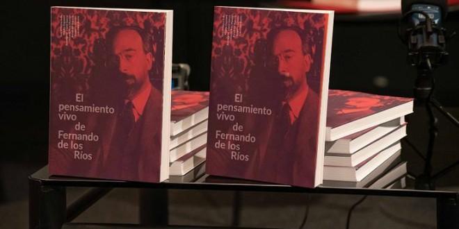Un libro analiza la figura de Fernando de los Ríos, ministro de la II República y primer diputado por Granada