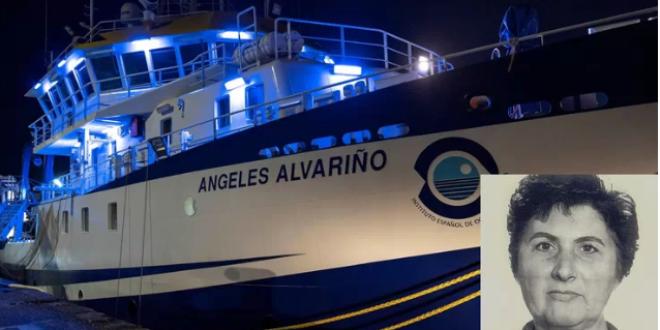 EL BARCO QUE TRABAJA EN TENERIFE SE LLAMA ANGELES ALVARIÑO PERO…¿QUIEN ES ANGELES ALVARIÑO?