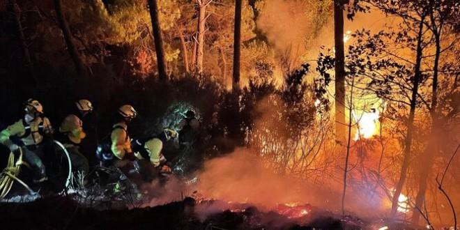 El abandono del monte, la presión del turismo o la falta de medidas preventivas explican la virulencia del incendio forestal de Sierra Bermeja