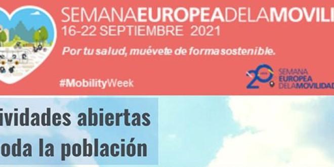 ATARFE CELEBRA LA SEMANA EUROPEA DE LA MOVILIDAD del 16 al 22 de SEPTIEMBRE