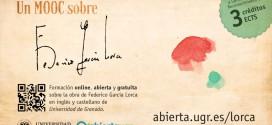 La plataforma AbiertaUGR oferta el MOOC Federico García Lorca 5ª edición