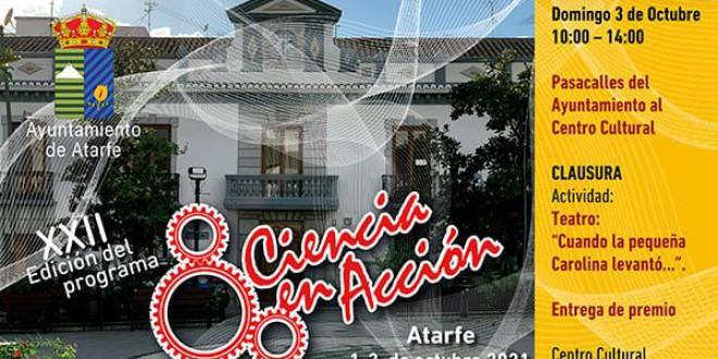 ATARFE CIERRA EL XXII ENCUENTRO DE CIENCIA EN ACCIÓN