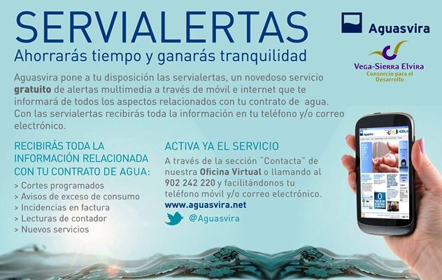 Aguasvira nuevo n mero de aver as y servialertas for Oficina virtual paro