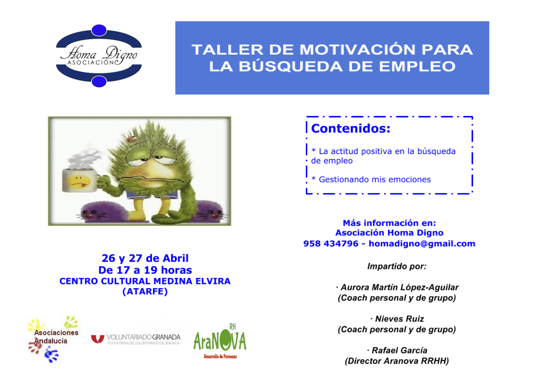 TALLER DE MOTIVACIÓN PARA LA BÚSQUEDA DE EMPLEO 2.2