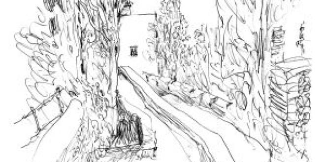 Álvaro Siza 'entreabre' su puerta a la Alhambra