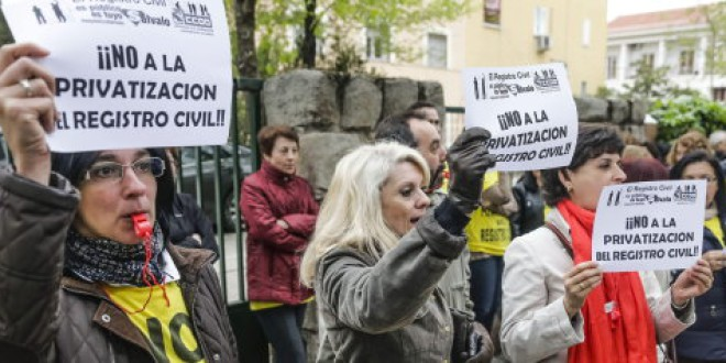 Cómo te afectará la «privatización» del Registro Civil, en 9 claves