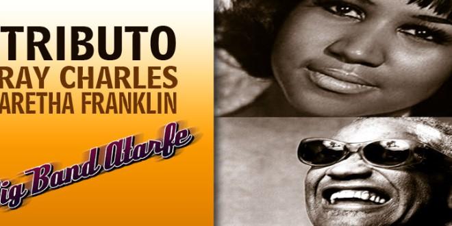 Concierto Big Band Atarfe Tributo a Ray Charles y Aretha Franklin.