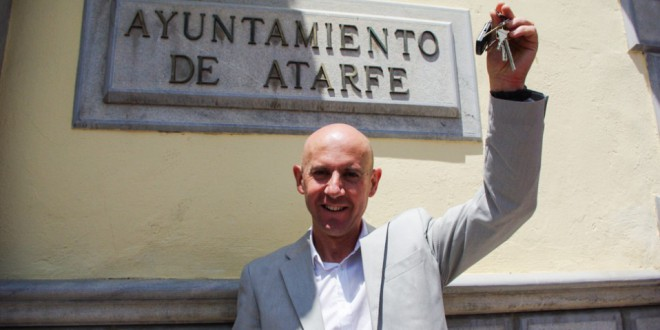 Francisco Rodríguez Quesada entra en la historia de Atarfe
